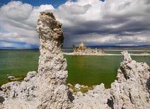 Tufa Formations, Mono Lake, California, USA. Mono Lake and Tufa Formations, State Natural Reserve. California, USA Royalty Free Stock Image