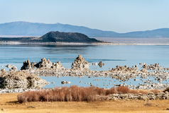 Mono Lake tufa rock Stock Images