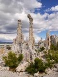 Mono Lake, Tufa Spires Royalty Free Stock Photography