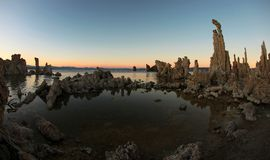 Mono Lake Tufas Royalty Free Stock Images