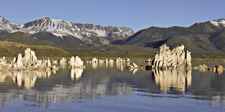 Mono Lake Tufas II Royalty Free Stock Image