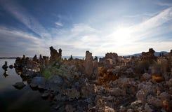 Mono Lake in USA Stock Image