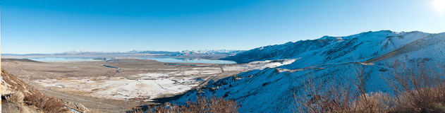 Mono Lake Valley Royalty Free Stock Images