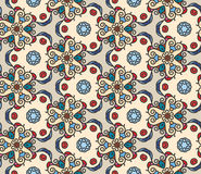 Mono line pattern retro style  for your design Royalty Free Stock Images