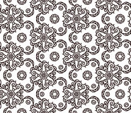 Mono line pattern for your design. Vector illustration Royalty Free Stock Photo
