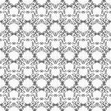 Mono line pattern for your design. Vector illustration Royalty Free Stock Photography