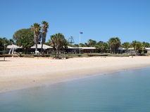 Mono Mia, bahía del tiburón, Australia occidental Imagenes de archivo