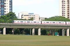 Mono Rail Transit. A mono rail transit used for public transportation royalty free stock images
