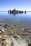 Mono resaca y toba volcánica del lago Imágenes de archivo libres de regalías