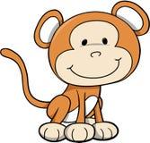 Mono salvaje del safari Fotos de archivo