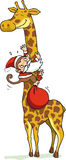Mono Santa Foto de archivo libre de regalías