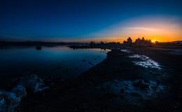 Mono sjösoluppgång Royaltyfri Foto