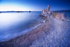 Mono tufa озера Стоковое Изображение