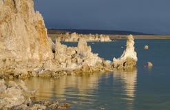 Mono Tufa озера Стоковые Фотографии RF