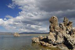 mono tufa Kalifornien för östlig lake Arkivbild