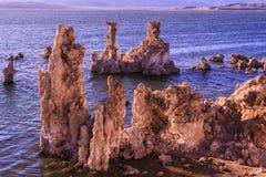 Mono Tufas озера Стоковые Изображения RF