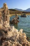 Mono Tufas озера Стоковое Фото