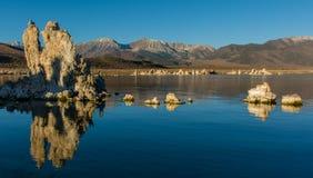 Mono tufos do lago Imagem de Stock