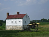 Monocacy battlefield. A building at the best farm monocacy national battlefield Royalty Free Stock Photos