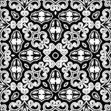 Monochormepatroon Royalty-vrije Stock Afbeeldingen