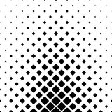 Monochromatic abstract square pattern background - geometric vector graphic design from diagonal rounded squares Stock Photo