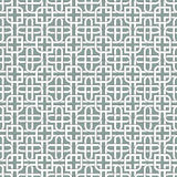 Monochromatic arabic pattern Royalty Free Stock Images