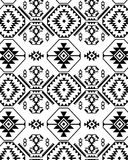 Monochromatic ethnic design Royalty Free Stock Photography