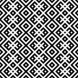 Monochromatic etniczny bezszwowy tło. ilustracji