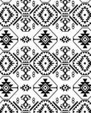 Monochromatic etnisk design Royaltyfri Fotografi