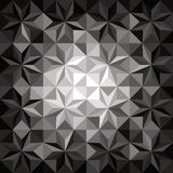 Monochromatic mosaic background Royalty Free Stock Image