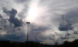 Monochromatic nieba zdjęcie stock