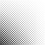 Monochromatic square pattern - geometric abstract vector background  Royalty Free Stock Photography