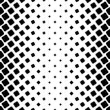 Monochromatic square pattern - geometric vector background graphic from angular rounded squares. Monochromatic square pattern - geometric abstract vector Royalty Free Stock Photo