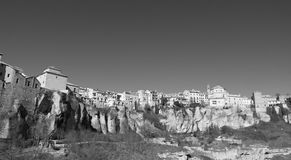 Monochromatic view of the city of Cuenca Stock Photo