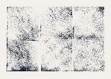 Monochromatyczna abstrakcjonistyczna ręka rysująca wektorowa grunge tekstura ilustracji