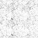 Monochromatyczna cząsteczka abstrakta tekstura Tło pęknięcia, scuffs, układy scaleni, plamy, atramentów punkty, linie Ciemny proj ilustracja wektor