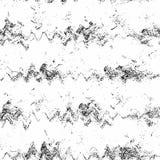 Monochromatyczna cząsteczka abstrakta tekstura Tło pęknięcia, scuffs, układy scaleni, plamy, atramentów punkty, linie Ciemny proj royalty ilustracja