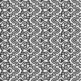 Monochromatyczny azjata wzór royalty ilustracja