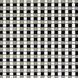 Monochromatyczny ciągły kwadrata wzór w czarny i biały Zdjęcie Stock