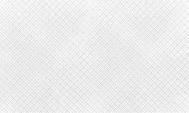 Monochromatyczny horyzontalny wzór z przecinającymi liniami tekstura gofry wektor Obraz Stock