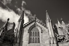 Monochromatyczny Kościół Zdjęcie Stock