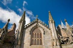 Monochromatyczny Kościół Fotografia Royalty Free