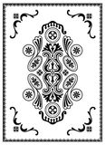 monochromatyczny ornament Obraz Stock