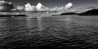 Monochromatyczny seascape Zdjęcia Stock