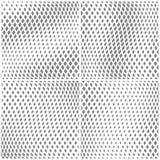 Monochromatycznych wektorowych rhombuses bezszwowi wzory Obraz Royalty Free