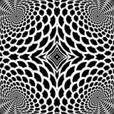 Monochrome абстрактная предпосылка snakeskin бесплатная иллюстрация