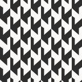 Monochrome безшовная картина Стоковое Изображение