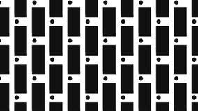 Monochrome вертикальный точечный растр прямоугольника иллюстрация вектора