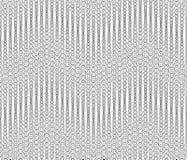 Monochrome геометрическая безшовная картина Стоковое фото RF