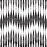 Monochrome геометрическая безшовная картина Стоковая Фотография RF